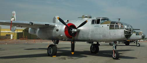 North American B-25J Mitchell, NL9117Z In The Mood