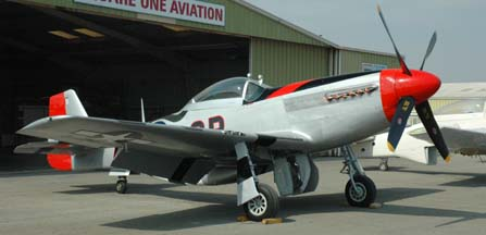 North American P-51D Mustang, NL44727 Man-O'-War