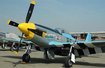 North American P-51D Mustang, N2580 Six Shooter