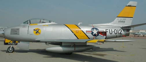 North American F-86F Sabre, N186AM