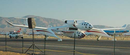 White Knight, N318SL and SpaceShipOne, N328KF