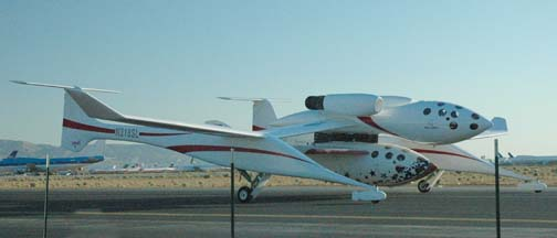 White Knight and SpaceShipOne