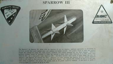 Sparrow III plaque
