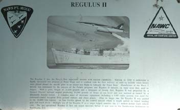 Regulus II plaque
