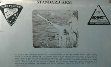Standard ARM plaque