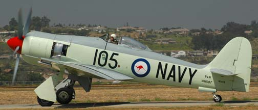 Hawker Sea Fury, N260X