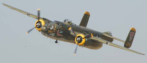North American B-25J Mitchell, N8195H Heavenly Body