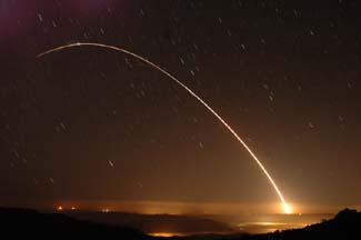 Minuteman III launch, September 15, 2004