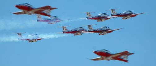 Canadair CT-114 Tutor, Canadian Snowbirds