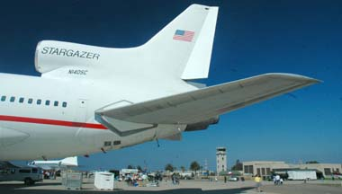 Orbital Sciences Lockheed L-1011 TriStar, N140SC Stargazer