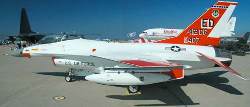 Lockheed-Martin-General Dynamics F-16A Fighting Falcon, 92-407 of the 412th Operational Group
