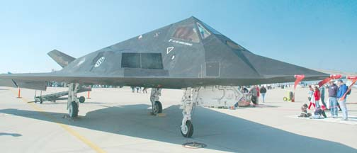 Lockheed-Martin F-117A Full Scale Development (FSD) Stealth Fighter, 79-10782  of the 412th Test Wing