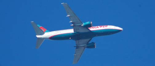 America West Airlines Boeing 737-3G7, N154AW