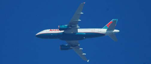 America West Airlines Airbus A319-132, N827AW