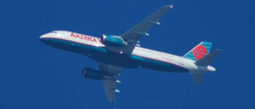 America West Airlines Airbus A320-232, N639AW