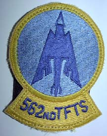 562nd Tactical Fighter Training Squadron badge
