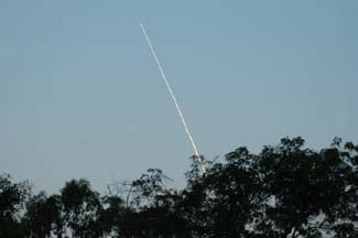 Minotaur Launch, April 11, 2005