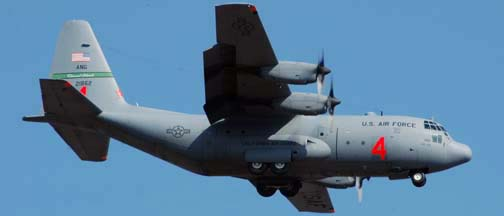 Channel Islands Air National Guard Lockheed C-130E Hercules, 62-1862 of the 115th Airlift Squadron of the 146th Airlift Wing