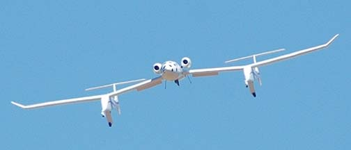 Rutan's White Knight, N318SL at the Mojave Airport