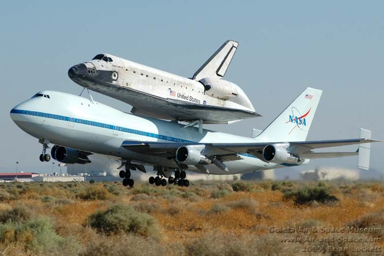 Goleta Air and Space Museum: Discovery Departs from ...