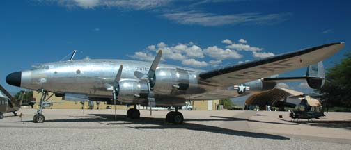 VC-121A, 48-0614 Columbine I at the Pima Air Museum on September 26, 2005