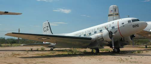 Marine Corps C-117D, BuNo 50826, Pima County Air Museum, September 26, 2005