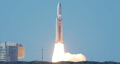 The last Lockheed-Martin Titan IVB launch, October 19, 2005