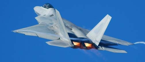 Pre-Production Lockheed-Martin F-22 Raptors