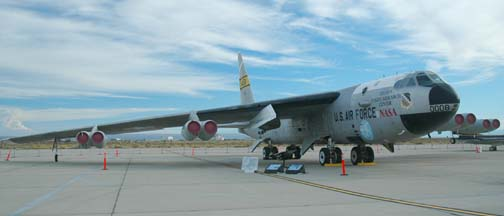 NASA's Boeing NB-52B Stratofortress Mothership, 52-0008