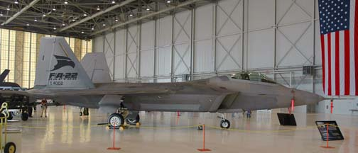 Lockheed-Martin F-22A Engineering, Manufacture, and Development Raptor, 91-4002
