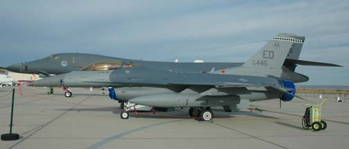 General Dynamics F-16C Block 42C 88-0445, 412th Test Wing