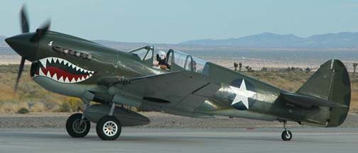 Curtiss P-40N Warhawk, NL85104