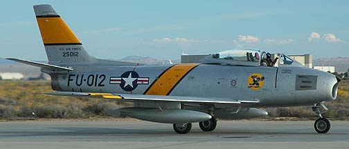 North American F-86F Sabre, NX186AM