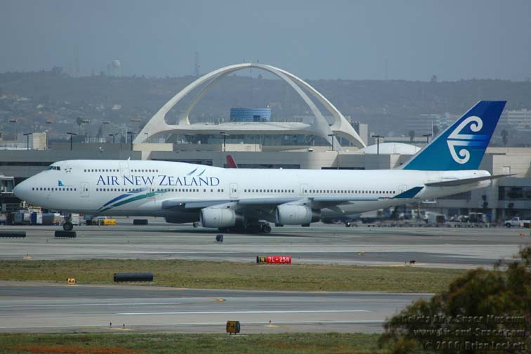 Air New Zealand a Los Angeles