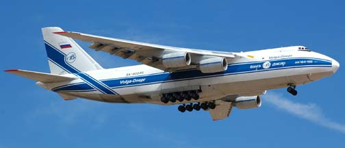Antonov An-124s at Victorville, March 14, 2006