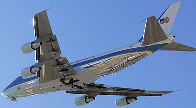 Boeing VC-25A 92-9000, Palm Springs, December 30, 2006
