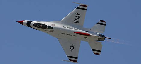 Thunderbirds General Dynamics F-16C Fighting Falcon
