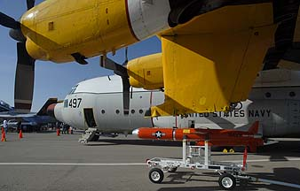 Naval Air Station Point Mugu Airshow, March 31 - April 1, Static  Displays