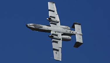 Fairchild-Republic A-10A Warthog 78-0673 of the 355th Wing