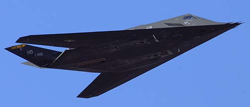 F-117A 84-1825 of the 8th Fighter Squadron