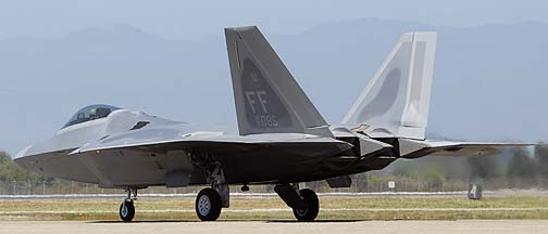 Lockheed-Martin F-22A Raptor 05-4086 of the 1st Fighter Wing