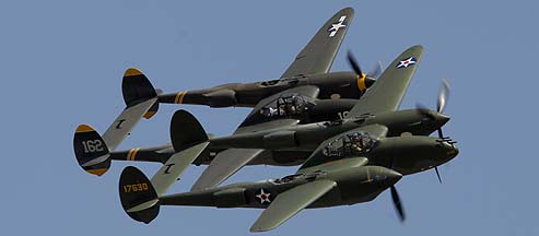 Lockheed P-38 and F-5 Lightning