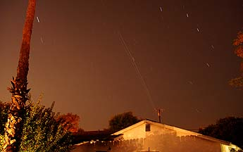 ISS and Space Shuttle Endeavour over Goleta