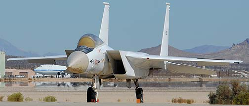 NASA's McDonnell-Douglas F-15A-4 Eagle N835NA HIDEC, September 26, 2007