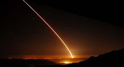 rocket and missile launches from vandenberg air force base