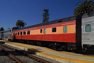 Vintage Rail Cars on the Amtrak Coast Starlight