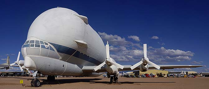 Super Guppy, Pima Air and Space Museum, Arizona, March 12, 2009