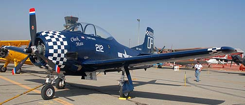 North American T-28B Trojan Check Mate
