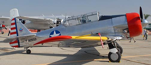 North American SNJ-5 Texan N2550