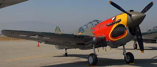 Curtiss P-40N Warhawk N1195N